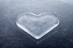 Cuore di ghiaccio Immagine Stock