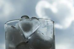 Cuore di ghiaccio Fotografia Stock