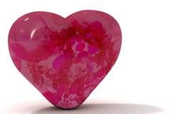 Cuore di giorno del biglietto di S. Valentino Fotografia Stock Libera da Diritti