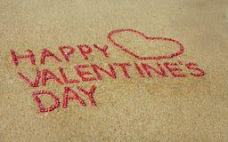 Cuore di giorno del biglietto di S. Valentino Fotografia Stock