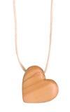 Cuore di legno Immagine Stock Libera da Diritti