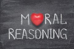 Cuore di ragionamento morale immagini stock libere da diritti