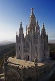 Cuore di Sagrat di Barcellona Fotografia Stock