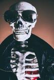Cuore di scheletro fresco Fotografia Stock Libera da Diritti