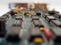Cuore di tecnologia Fotografia Stock