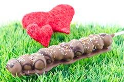 Cuore e cioccolato immagine stock libera da diritti