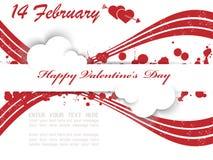 Cuore ed amore di San Valentino Immagine Stock