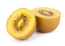 Cuore giallo Kiwi Fruit Fotografia Stock