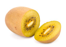 Cuore giallo Kiwi Fruit Immagine Stock