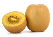 Cuore giallo Kiwi Fruit Immagini Stock Libere da Diritti