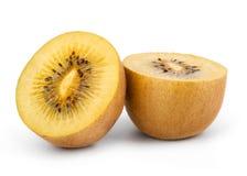 Cuore giallo Kiwi Fruit Fotografie Stock