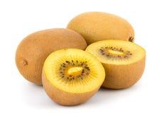 Cuore giallo Kiwi Fruit Immagini Stock