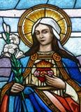 Cuore immacolato di Mary immagini stock libere da diritti