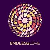 Cuore Logo Poster Fotografia Stock