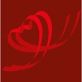cuore Nastro-a forma di Royalty Illustrazione gratis