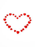 Cuore per il giorno del biglietto di S. Valentino Fotografie Stock