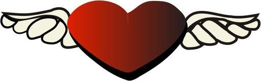 Cuore per il giorno del biglietto di S. Valentino Fotografie Stock Libere da Diritti