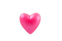 Cuore rosa 1 Fotografia Stock Libera da Diritti