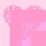 Cuore rosa Immagini Stock Libere da Diritti