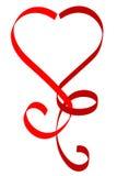 Cuore rosso Immagini Stock Libere da Diritti