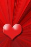 Cuore rosso Immagine Stock Libera da Diritti