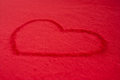 Cuore rosso Fotografie Stock Libere da Diritti