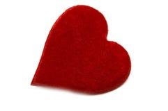 Cuore rosso Fotografia Stock