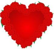 Cuore rosso royalty illustrazione gratis
