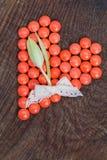 Cuore rosso Fotografia Stock Libera da Diritti
