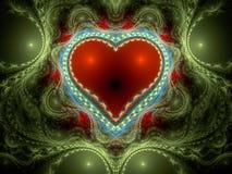 Cuore rosso. royalty illustrazione gratis