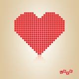 Cuore rosso, concetto royalty illustrazione gratis