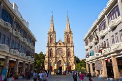 Cuore sacro della cattedrale del Jesus Immagini Stock