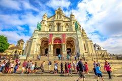 Cuore sacro Montmartre Fotografie Stock