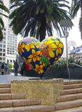 Cuore a San Francisco Fotografia Stock