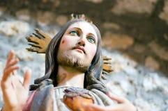 Cuore santo di Gesù Cristo Fotografia Stock