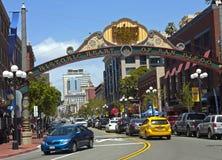 Cuore storico di San Diego Immagine Stock