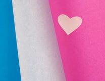 Cuori colorati Fotografia Stock Libera da Diritti
