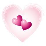 Cuori del cuore Fotografia Stock Libera da Diritti