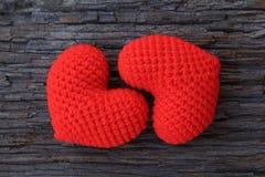 Cuori di amore Immagini Stock Libere da Diritti