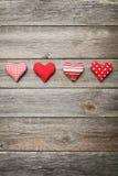 Cuori di amore Immagini Stock