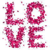 Cuori di amore Immagine Stock Libera da Diritti