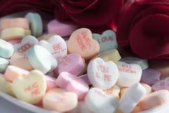 Cuori di Candy di San Valentino Immagine Stock Libera da Diritti
