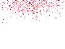 Cuori di carta multicolori ENV 10 illustrazione vettoriale