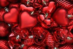 Cuori di giorno dei biglietti di S. Valentino. Fotografia Stock Libera da Diritti