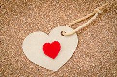 Cuori di giorno di Valentin Immagini Stock