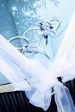 Cuori di nozze Fotografia Stock