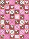 Cuori e quadrati royalty illustrazione gratis