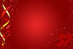 Cuori \ giorno dei biglietti di S. Valentino Fotografie Stock Libere da Diritti