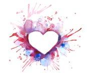 Cuori - il giorno del biglietto di S. Valentino della st Immagini Stock