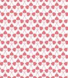Cuori rosa Immagini Stock Libere da Diritti